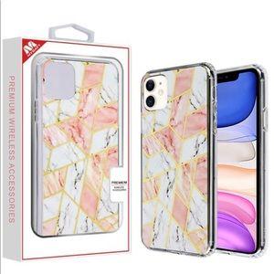 iPhone 11 Premium Marble Hybrid Case